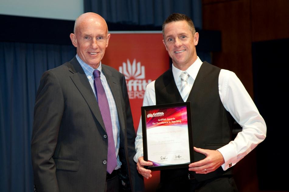 2012 Griffith Group Leanring and Teaching Citation - Jason Harding